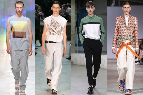 muster trendfarben modetrends ss 2015 Modetipps Männern