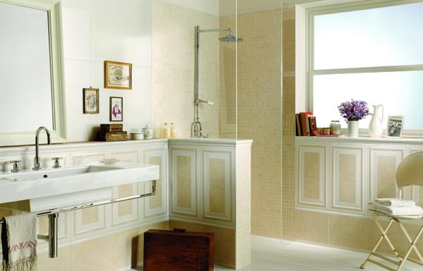 neo classica sabbia beige mosaik wandfliesen