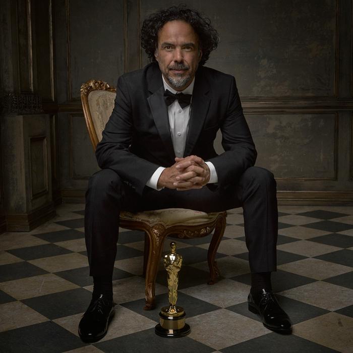 oscar verleihung portraitfotos Alejandro González Iñarrítu fotografer mark seliger für vanity fair