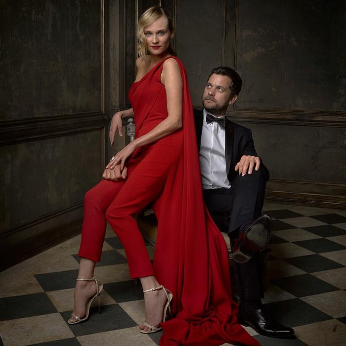 oscar verleihung portraitfotos Diane Kruger Joshua Jackson mark seliger vanity fair