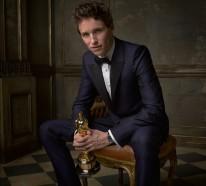 Porträitfotos von Celebrities direkt nach der Oscar Verleihung