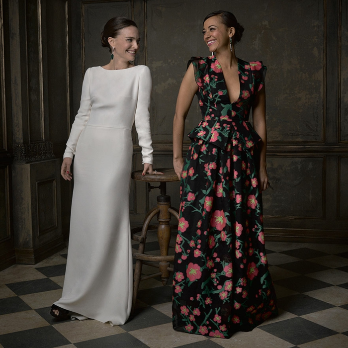 oscar verleihung portraitfotos Natalie Portman Rashida Jones mark seliger vanity fair