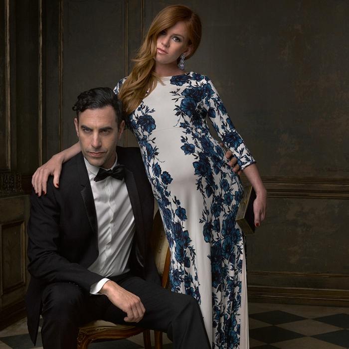 oscar verleihung portraitfotos Sacha Baron Cohen Isla Fisher mark seliger vanity fair