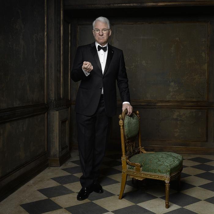 oscar verleihung portraitfotos Steve Martin fotografer mark seliger für vanity fair