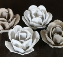 Osterdeko basteln – Ausgefallene Deko aus Eierschachteln basteln