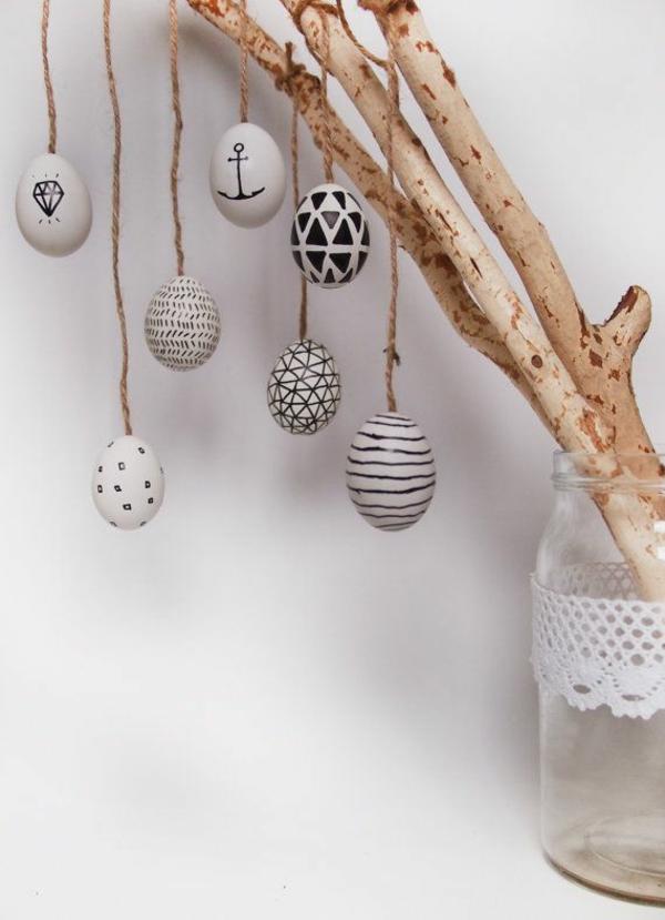 ostereier bilder als inspiration f r ihre diesj herige osterdekoration. Black Bedroom Furniture Sets. Home Design Ideas