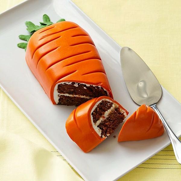 osterkuchen backen orange möhre