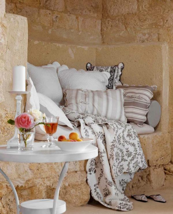 Provence stimmung in ihrer inneneinrichtung for Runder korbsessel