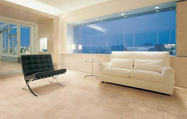 quarzite beige wohnzimmer fliesen