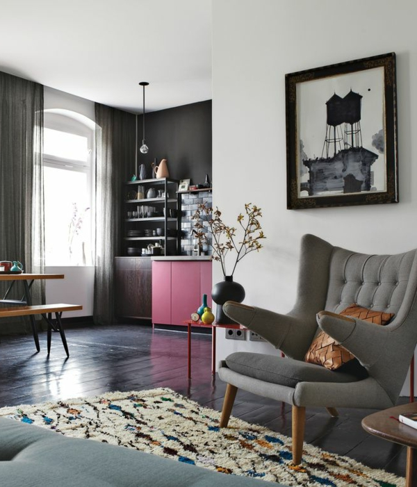 wohnzimmer sessel retro raum und m beldesign inspiration. Black Bedroom Furniture Sets. Home Design Ideas
