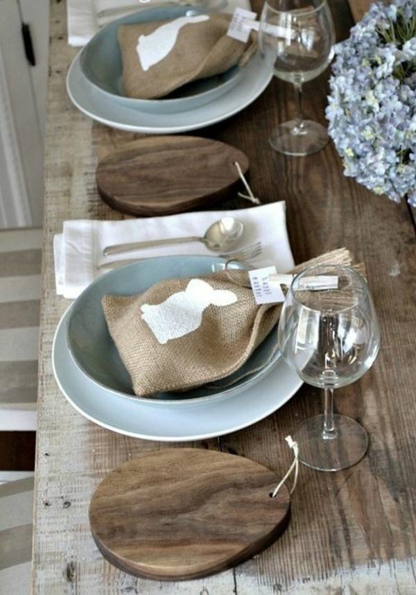 So Basteln Sie Eine Wunderschone Tischdeko Zu Ostern