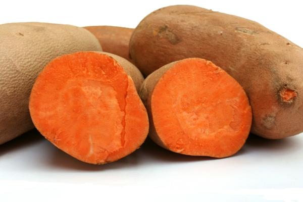 kartoffel saftig orange wurzeln