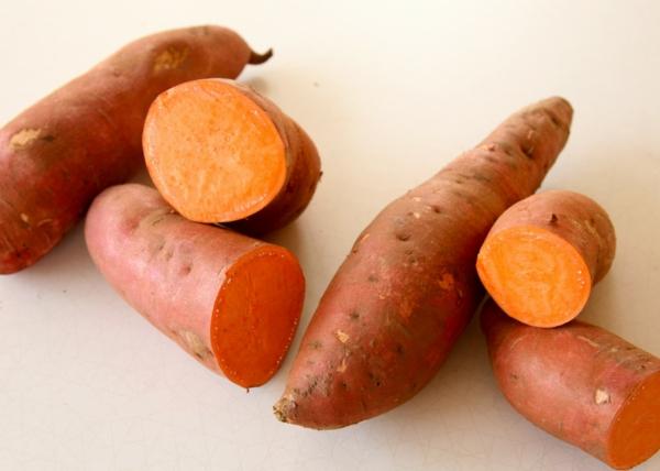 süßkartoffel orange saftig