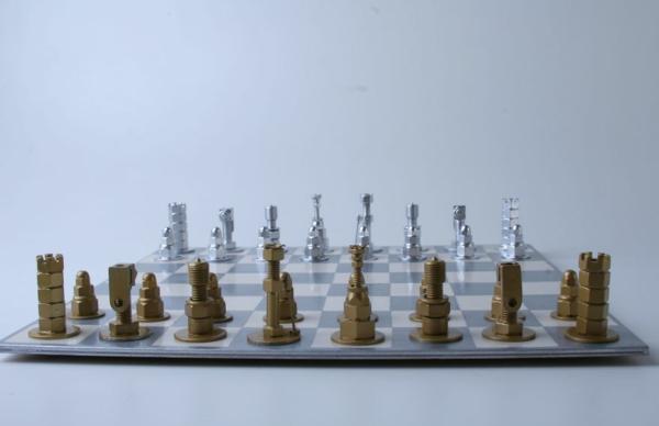 schachfiguren schach spielen diy projekt