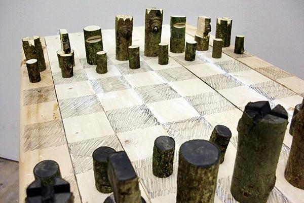 schach figuren schachspiel naturholz