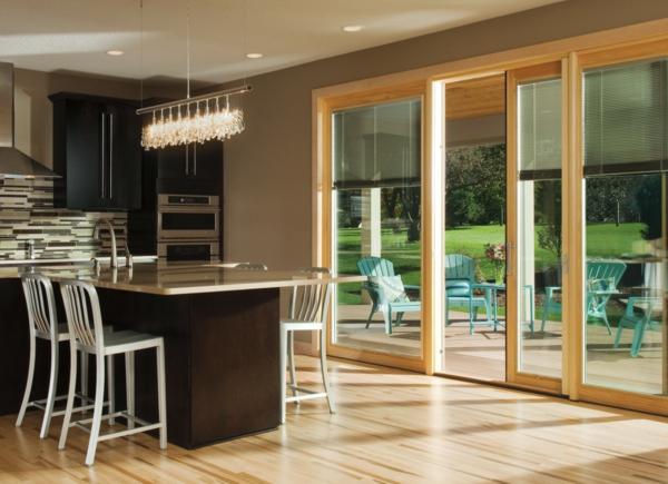 Küche Esszimmer Schiebetür: Gleittüren selber bauen diy ...