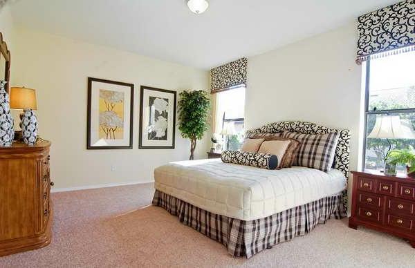 schlafzimmer gestalten zimmerpflanze bilder kommode
