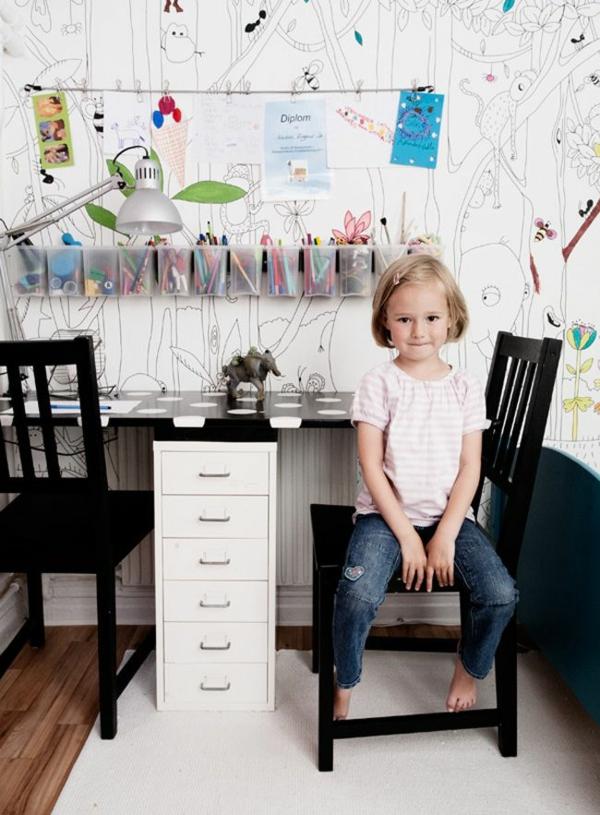 schreibtisch kinderzimmer einrichten lernmöbel kindermöbel
