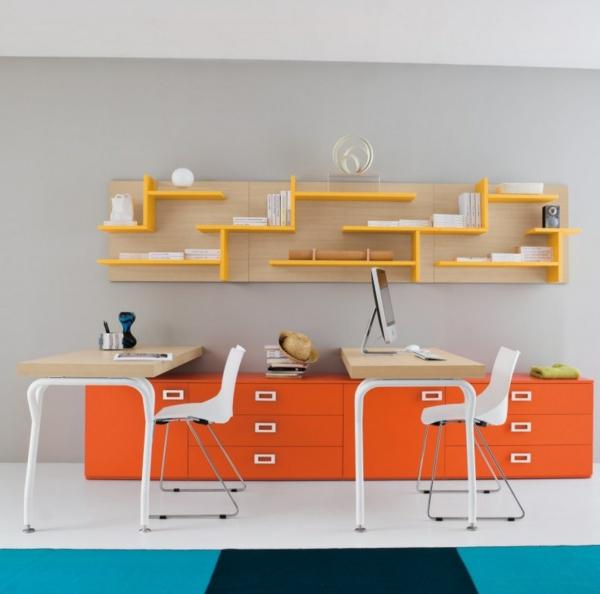 schreibtisch kinderzimmer moderne kindermöbel lernmöbel schraibtischstühle