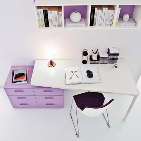 Kinderzimmer schreibtisch  Kinderzimmer Möbel - die Rolle von dem Schreibtisch im Kinderzimmer