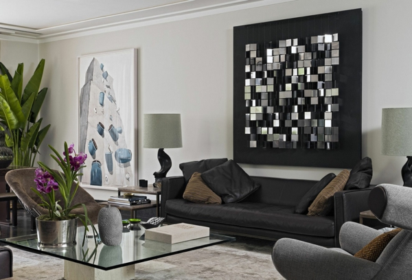 Sofakissen peppen nicht nur das sofa sondern auch den for Best brand of paint for kitchen cabinets with family room wall art ideas