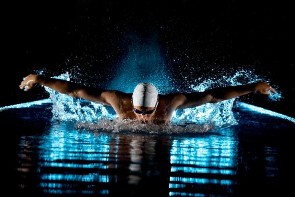selbstmotivation schwimmen professionell