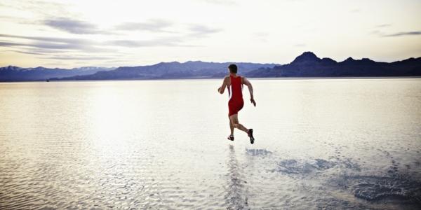 selbstmotivation wasser laufen sport