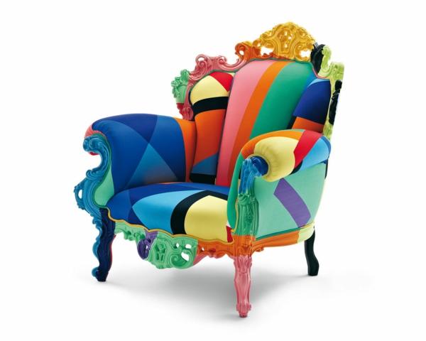 bunter sessel bezaubert das innendesign auf eine. Black Bedroom Furniture Sets. Home Design Ideas