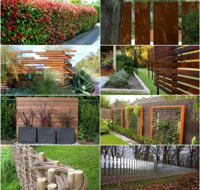 Den sichtschutzzaun versch nern oder neu gestalten for Gartengestaltung sichtschutz beispiele