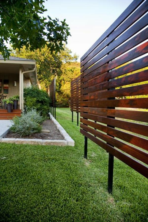Den sichtschutzzaun versch nern oder neu gestalten for Tall outdoor privacy screen panels