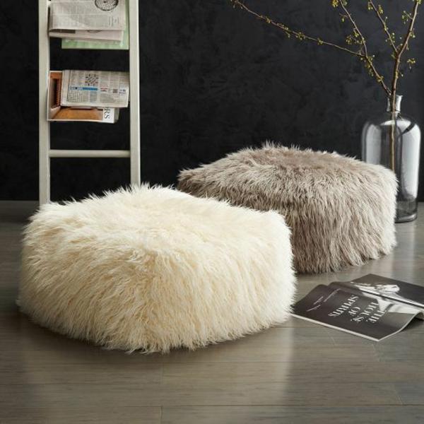skandinavisches wohnzimmer möbel hocker skandinavische wohnaccessoires