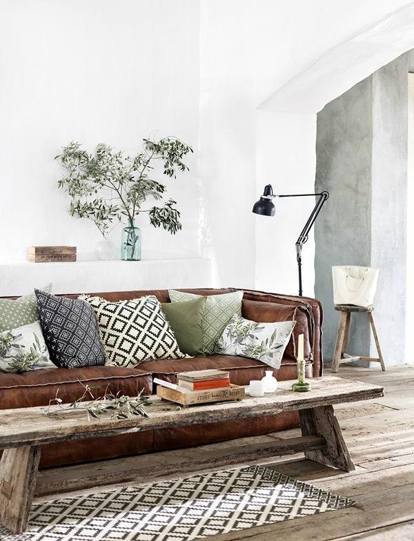 sofakissen braunes sofa schöne kissenbezüge