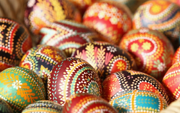 sorbisch ostereier mazedonische eier