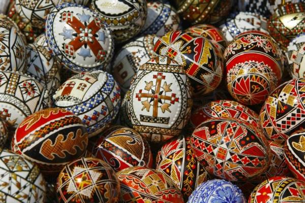 sorbische ostereier rumänische slawische eier