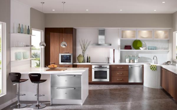 spülmaschinen holzfurnier küchenschränke danconia interiors design