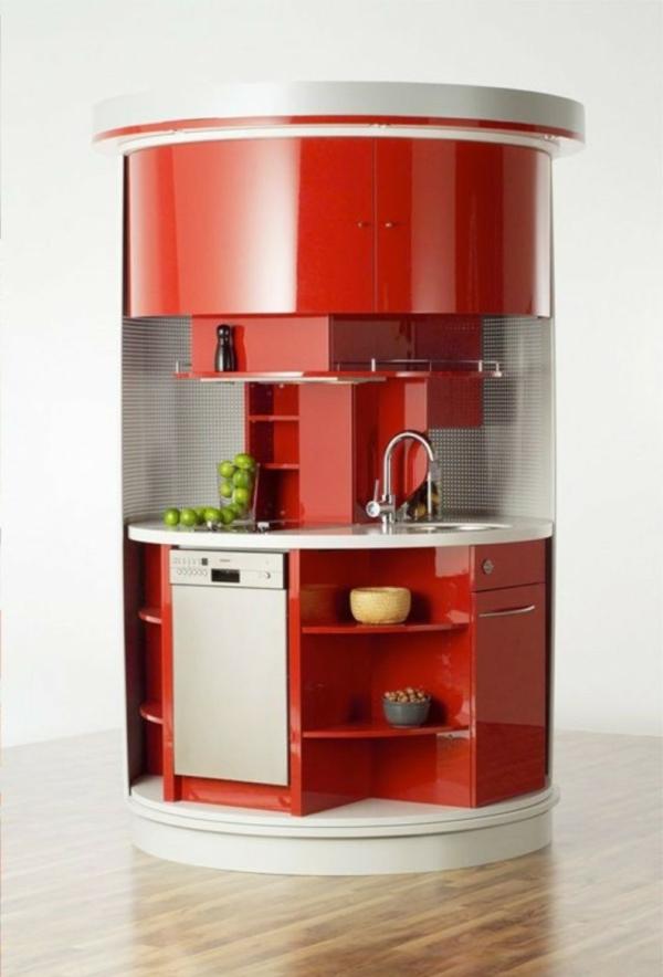 spülmaschinen runde küche chrom armatur