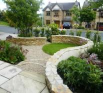 Den Garten mit Steinen gestalten – Schöne Gartengestaltungsideen