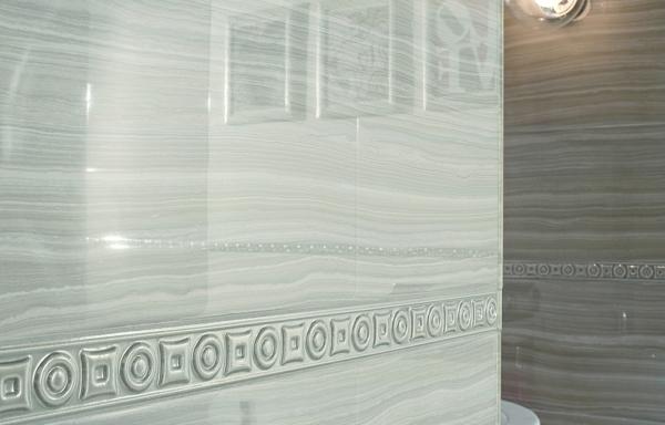 stile seta gesso wandfliesen design glanz blass muster