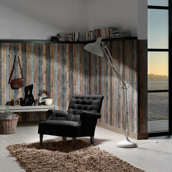 holz tapete wohnzimmer:Tapete Holzoptik – Die Schönheit des Holzes entdecken