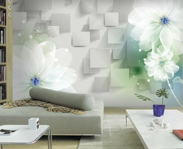wandgestaltung wohnzimmer tapete – Dumss.com