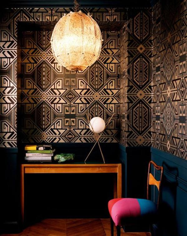 Tapete Schlafzimmer Dunkel : Tapetenmuster, unter denen jeder das passendste findet