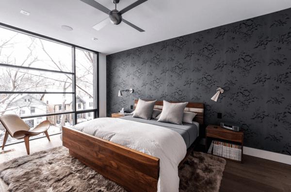 tapeten moderne tapete fürs schlafzimmer