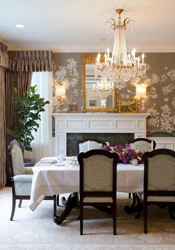 tapetenmuster florale tapete schafft eine wunderschöne akzentwand