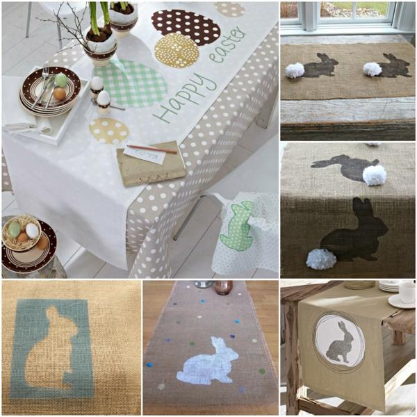 thematische tischl ufer zu ostern sorgen f r eine. Black Bedroom Furniture Sets. Home Design Ideas