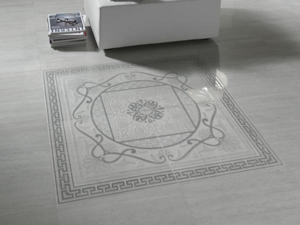 grau bodenfliesen design muster teppich cerdisa