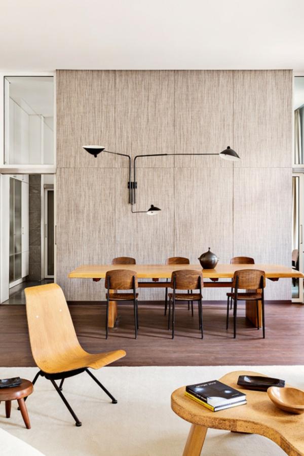 tramhäuser Emmanuel de Bayser berlin esszimmertisch mit stühlen