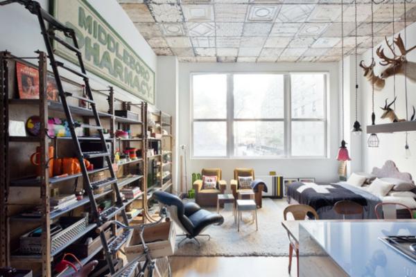 traumhäuser HJ Loft new york offener wohnbereich
