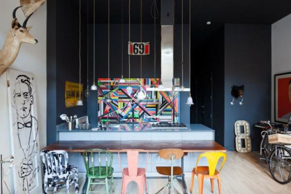 Shabby Chic Loft Wohnung New York | tramh user HJ Loft new york shabby shic stil einrichtungsideen