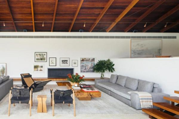tramhäuser Jacobsen House brasilien einrichtung wohnzimmer