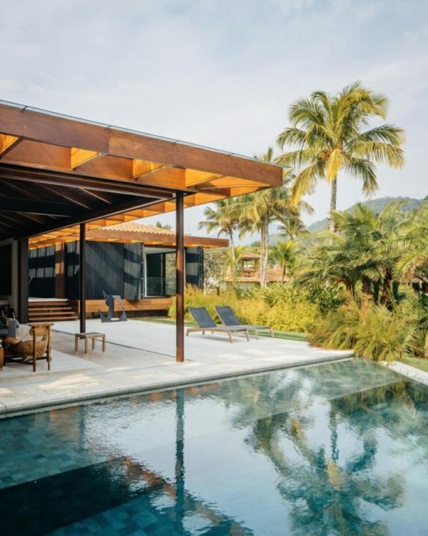 tramhäuser Jacobsen House brasilien garten pool